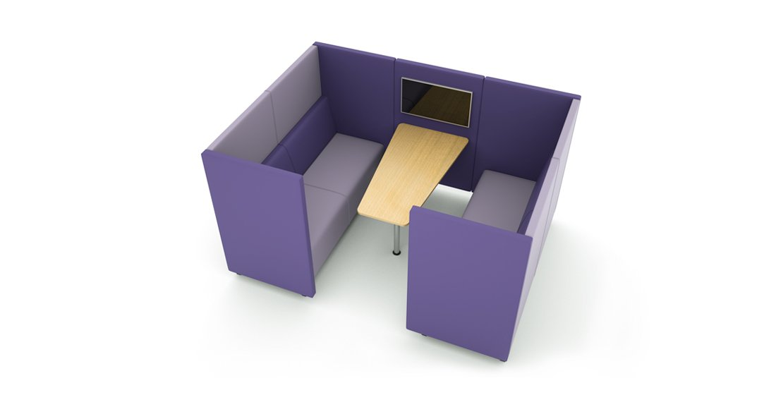 Citrus Seating Daisy office pod with screen