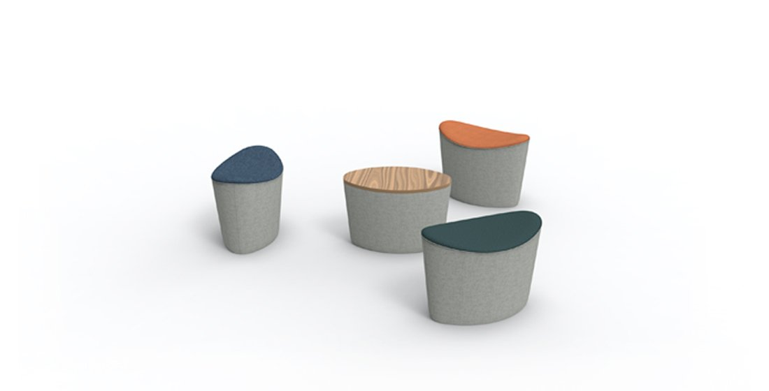 Citrus Seating Soft Seating Ellie Office Stools
