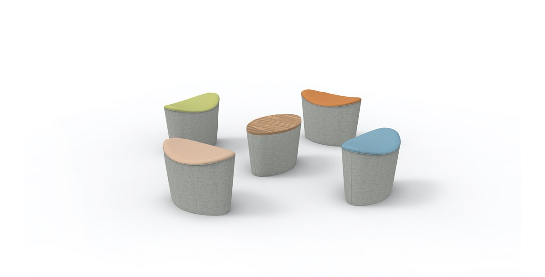 Citrus Seating Ellie Stools Soft Seating Office Furniture