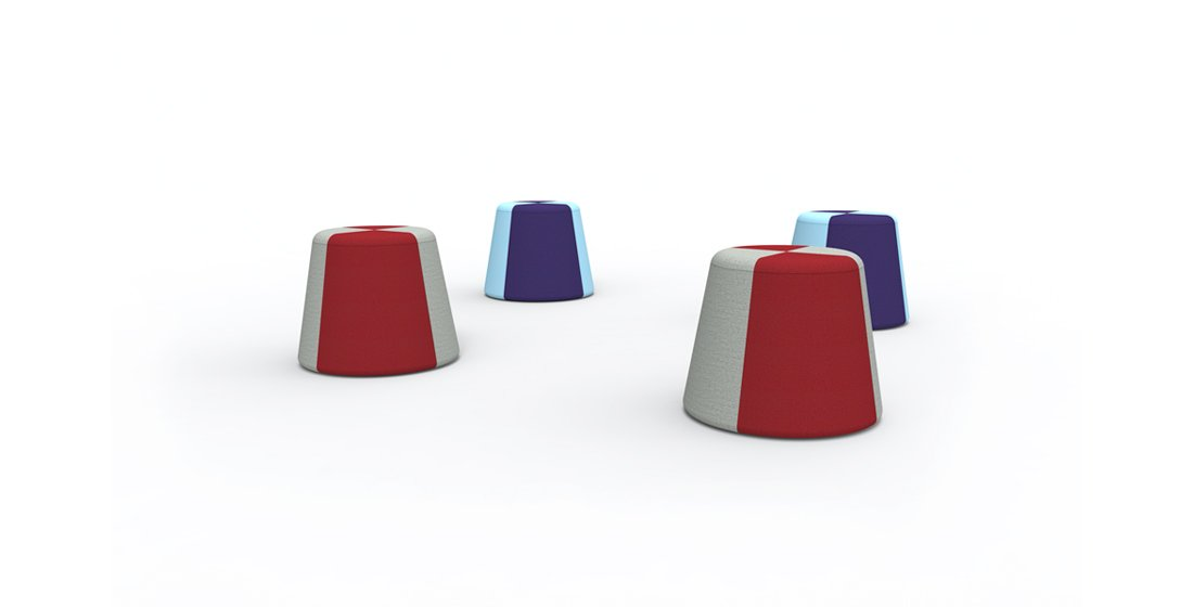 Citrus Seating Hillary Seating Stools Modular Soft Seating