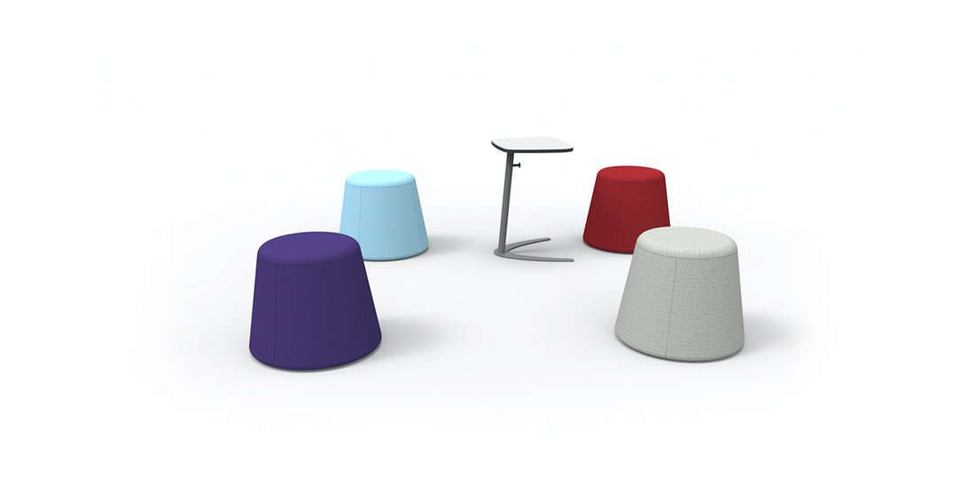 Citrus Seating Modular Office Seating Stools and Tables