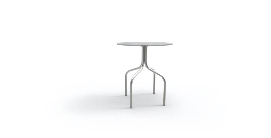 Citrus Seating Jerome 4 legged table with glass top