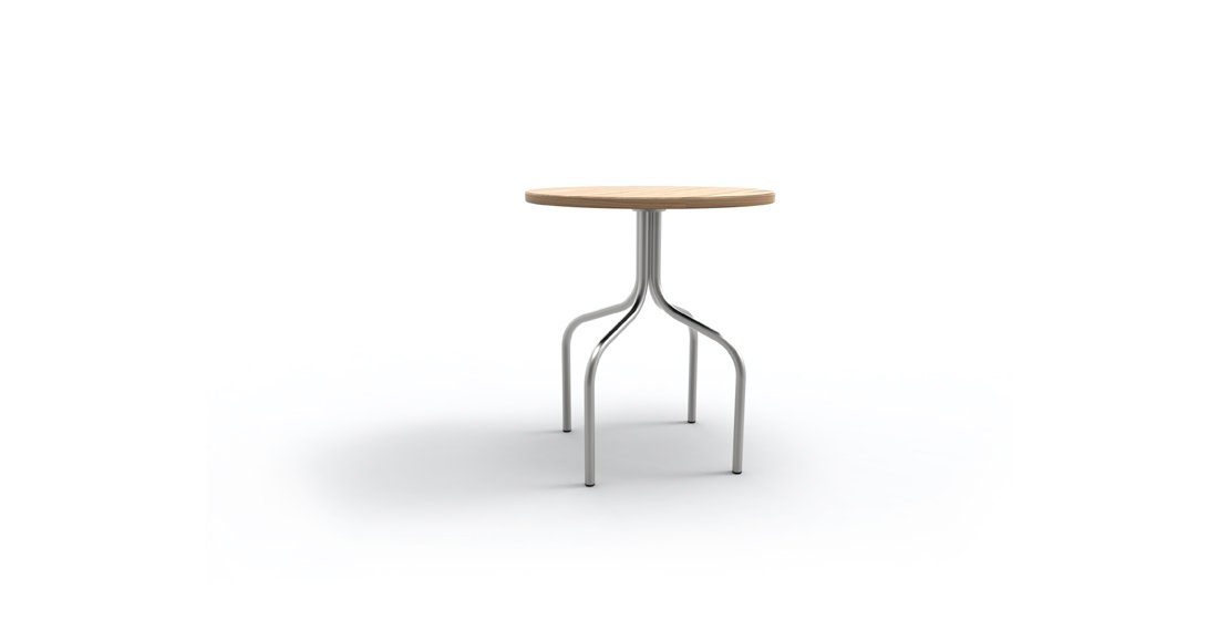 Citrus Seating Jerome 4 legged table with timber top